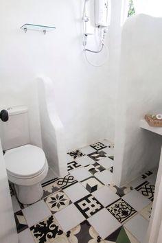 Mismatch machuca tiles Machuca Tiles, Filipiniana, Toilet, House Design, Interiors, Bath, Spaces, Interior Design, Inspiration