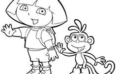 Kidslikecoloringpages Coloring Pages Go Diego Page 12