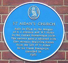 Frank Brangwyn - Wikipedia St Aidans, Romanesque, Burger King Logo, Mosaic, Ads, Mosaics, Romanesque Art, Mosaic Art
