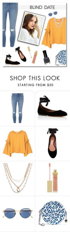 """Blind Date"" by mk-style ❤ liked on Polyvore featuring Dorothy Perkins, Tabitha Simmons, MANGO, Vera Bradley, AERIN, Thom Browne and Charlotte Russe"