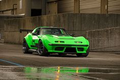 "A Wild And Venomous 1968 Pro Touring Chevy Corvette ""The Green Mamba"" - ThrottleXtreme Chevrolet Corvette, Chevy, Corvette C3, Cool Sports Cars, Sport Cars, Cool Cars, Modern Muscle Cars, Custom Muscle Cars, Touring"