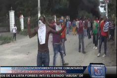 Comunitarios Y Policías Se Enfrentan En Medio De Una Protesta En San Cristóbal #Video