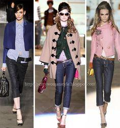 cropped jeans - Denim trends F/W 2012/13