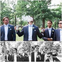 Cool photos of groomsmen | UNC Chapel Hill Wedding | Photography by Story & Rhythm