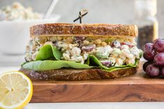 The Ultimate Chickpea Salad Sandwich (Vegan, Gluten-Free) - From My Bowl