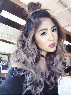 Trendy Hair Color Silver Asian 53 Ideas - All About Hairstyles Hair Color Asian, Cool Hair Color, Asian Ombre Hair, Asian Hair, Hair Colors, Ombré Hair, Dye My Hair, Pelo Color Ceniza, Grey Ombre Hair