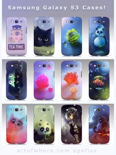 galaxy S3 cases by *Apofiss on deviantART