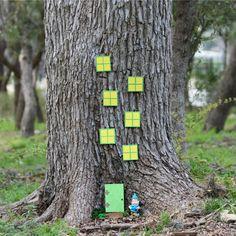 maison de gnomes originale à faire soi-même en tant que déco de jardin accrocheuse