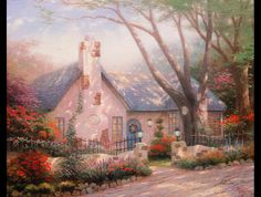 PAINTINGS OF COTTAGES images | ... strange death of art's king of twee | Art and design | guardian.co.uk