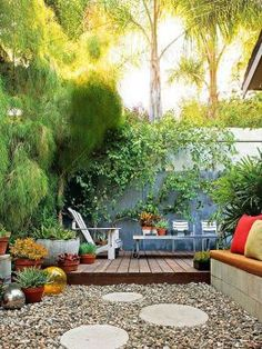 37 Beautiful Garden Pictures For You » Outdoor Rooms, Outdoor Gardens, Outdoor Living, Outdoor Decor, Outdoor Ideas, Outdoor Play, Inexpensive Backyard Ideas, Cheap Backyard Ideas, Wood Gardens