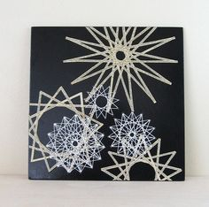 Star Constellation 1  Book Paper Collage  String Art от bookBW