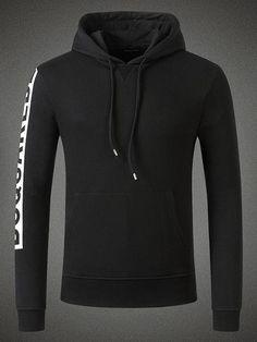 Dsquared2 Hooded Sweatshirt Black Men #men #clothing #sweatshirt #fashion #christmas #gifts #lifestyle #shopping