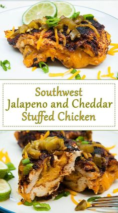 Easy Southwest Jalapeno Cheddar Stuffed Chicken