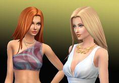 Sims 4 CC's - The Best: Harmony Hair for Females by Kiara24