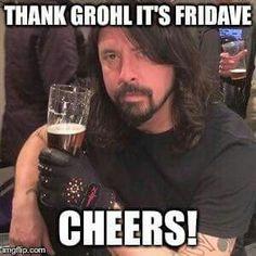 Its Friday! 7th April.