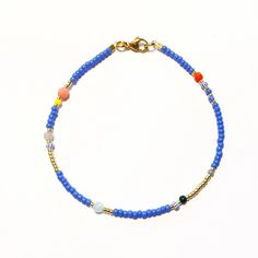 """The product NEU!! Armband """"SUMMER BLUES"""" is sold by Capri Diem in our Tictail store. Tictail lets you create a beautiful online store for free - tictail.com"""