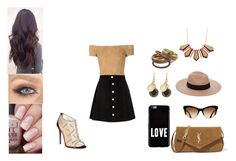 """""""Senza titolo #250"""" by applequeen on Polyvore featuring moda, Christian Louboutin, AG Adriano Goldschmied, Alice + Olivia, Yves Saint Laurent, Givenchy, Anine Bing e Marc by Marc Jacobs"""