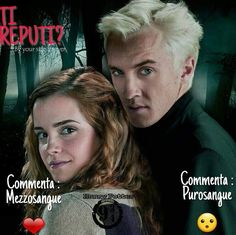 #Riproposta ⚡  Ti reputi? ⚡  ❤️ commenta (mezzosangue)  😯 commenta (purosangue)   Passate nel nostro gruppo : https://www.facebook.com/groups/1618492761792081/  Telegram : https://t.me/joinchat/FhbXdUJZGkmAv5vBgKZB  Instagram : https://www.instagram.com/harry_potter_binario934/  ⚡Hermione⚡