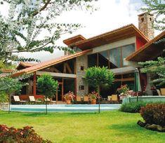 design home decoration Tropical Architecture, Futuristic Architecture, Architecture Design, Future House, My House, Design Exterior, Exterior Paint, Tropical Houses, Modern House Design