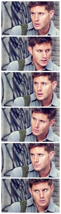 Jensen Ackles, supernatural, and dean winchester image  Good lordt this man is sexy!
