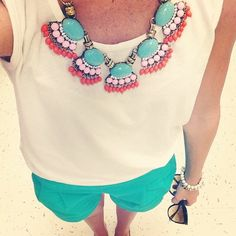 good by bubble necklace- welcome tribal!