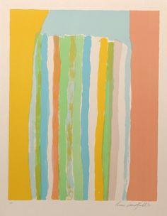 Ronnie Landfield, Color Fields II, Silkscreen.