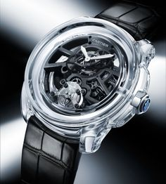 The Cartier ID TWO Concept Watch