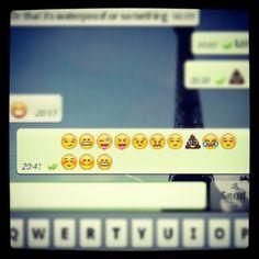 The mundane things in life depicted through emoji..
