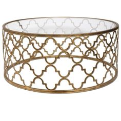 Looking for Uttermost 25015 Quatrefoil Coffee Table, Gold ? Check out our picks for the Uttermost 25015 Quatrefoil Coffee Table, Gold from the popular stores - all in one. Round Glass Coffee Table, Iron Coffee Table, Round Accent Table, Accent Tables, Coffee Tables, Royal Furniture, Accent Furniture, Circular Table, Living Room Accents