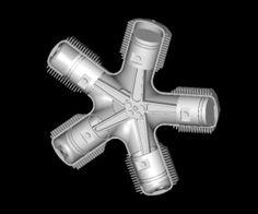Yıldız tipi (radyal) motor