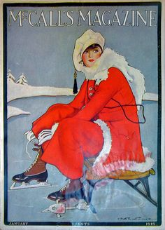 McCalls January 1916, cover artist, Ruth Eastman