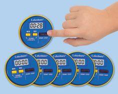 Student Timer - Each  #LakeshoreDreamClassroom  Perfect for students to time themselves while practicing their fluency.
