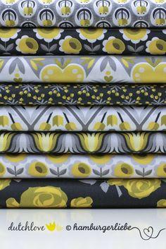 Hamburger Liebe: schöne Stöffchen Fabric designed in Germany