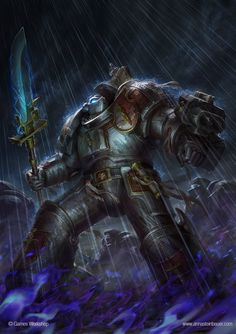 WH40k Grey Knights Codex Cover by depingo.deviantart.com on @deviantART