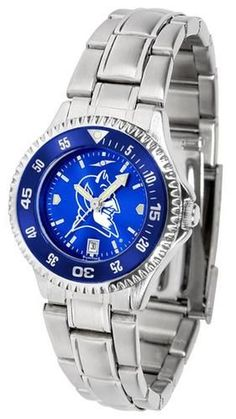 Duke University Blue Devils Ladies Watch Stainless Steel Wristwatch