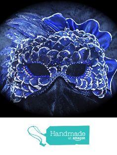 Queen of the Night mask from BeadazzlebyJill http://www.amazon.com/dp/B01906V83M/ref=hnd_sw_r_pi_dp_aJMzwb17XTVQ5 #handmadeatamazon