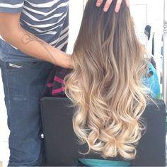 Moda Para Meninas @modaparameninas Hair @segredosdel...Instagram photo #Ombrehair