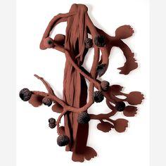 Obra de Frans Krajcberg no leilão 29 de Abril de 2010 da Bolsa de Arte