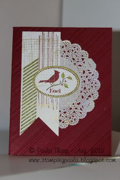 Warmth & Wonder, Gorgeous Grunge, Off the Grid. Stampin' Up.