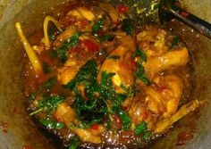Resep Ayam rica-rica kemangi pedas manis oleh Dwi Endarwati - Cookpad Japchae, Ethnic Recipes, Food, Essen, Meals, Yemek, Eten