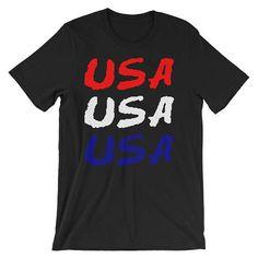 Proud American Shirt Olympics Shirt usa usa usa usa Clothing USA Shirt Red White Blue Shirt usa T-Shirt usa Olympics Patriotic Shirt by 25VintagePlace