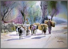 Manali Road by  Milind Mulick