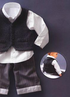 Baby Boy Knit Waistcoat Sweater Newborn to all by TanyasBunnyTots, $19.00