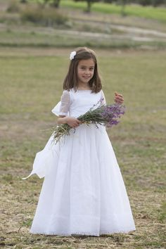 Girls Dresses, Flower Girl Dresses, Communion Dresses, Young Fashion, Dressmaking, Couture, Wedding Dresses, Flowers, Photographs