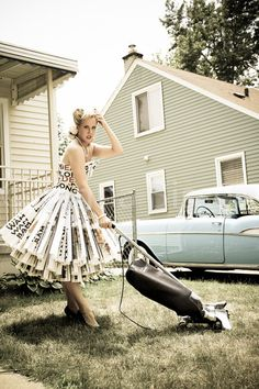 1950's Housewife Goes Mad Series Fine Art by lilacpopphotography, $30.00