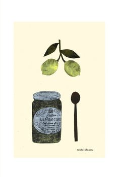 Shuku Nishi Food Doodles, Illustrations And Posters, Collage Art, Food Art, Illustrators, Illustration Art, Artsy, Painting, Drawings