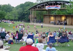 Sundays in the Park Summer Concert Series at the Greenville Toyota Amphitheater on the Town Common