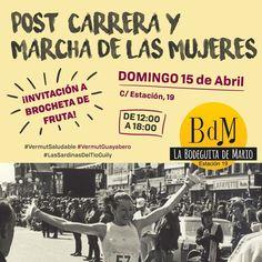 Buenos días Bodegueros, el próximo domingo, como siempre apoyando la marcha.   #vermutsaludable  #lasSardinasdelTioWily Y #vermutelguayabero