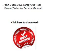 Click on image to download honda gxv120 vertical shaft engine repair john deere 1905 large area reel mower technical service manual fandeluxe Choice Image