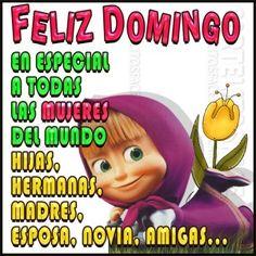 Feliz #Domingo en especial a todas las #mujeres